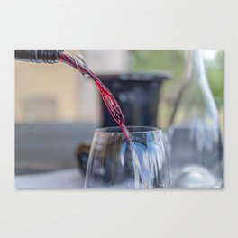 Capercaille Red Wine, Hunter Valley, Australia Canvas Print