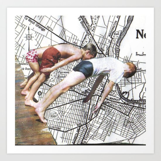 newark Art Print