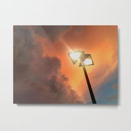 San Francisco Sky at Dusk Metal Print
