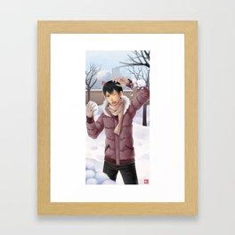 HAIKYUU!! - KAGEYAMA TOBIO ~ WINTER Framed Art Print
