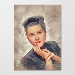 Margaret Whiting, Music Legend Canvas Print