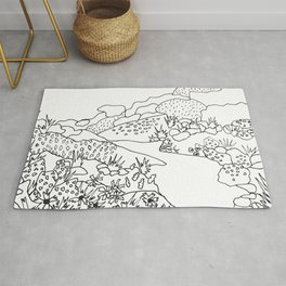 Texas Hill Country Rug