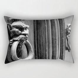 Knockin' at the Door Rectangular Pillow