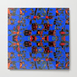 Abstract BB DR Metal Print