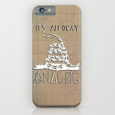 Gnalog (Analog Zine) Slim Case iPhone 6s