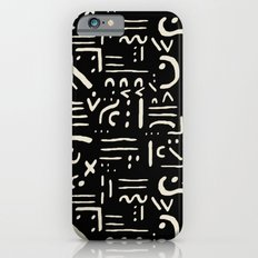 Heiroglyph in black Slim Case iPhone 6s