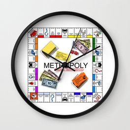 Methopoly Wall Clock