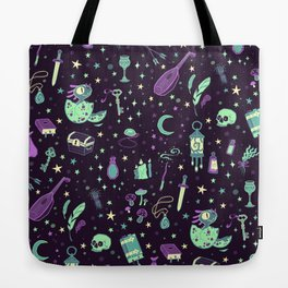 Magical Miscellanea Pattern Tote Bag
