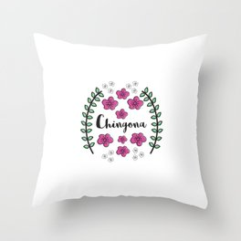 Chingona Throw Pillow