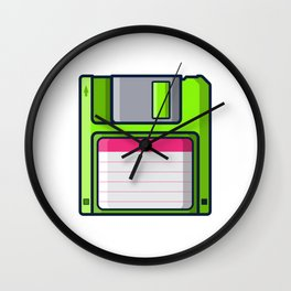 Retro - diskette Wall Clock