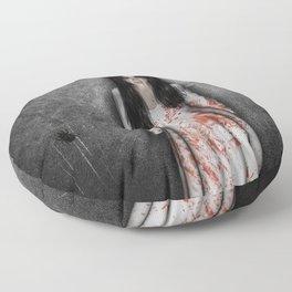 The dark cellar Floor Pillow
