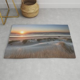 South Jetty Beach Sunset, No. 3 Rug