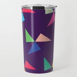 Colorful geometric pattern IV Travel Mug