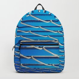 Blue Fence Backpack