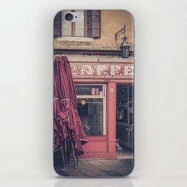 Venitian coffee shop caffé San Pantalon Venice Italy iPhone Skin
