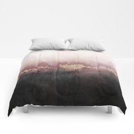 Pink Sky Comforters