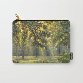 Magic light in natural park modern fine art Carry-All Pouch