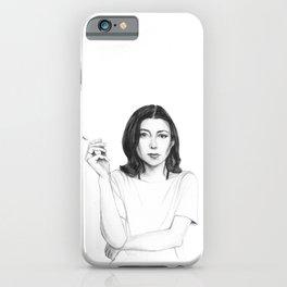 Joan Didion iPhone Case
