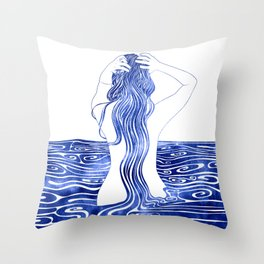 Nereid XI Throw Pillow