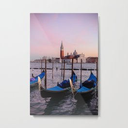 Venice Sunset Metal Print