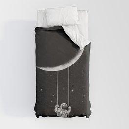 Moon Swing Duvet Cover