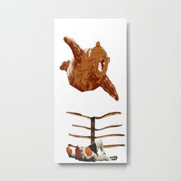 Bearial Attack Metal Print