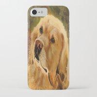 golden retriever iPhone & iPod Cases featuring Golden Retriever by Tidwell