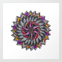 Mandala 009 Art Print