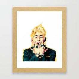 O.M.Z. Framed Art Print