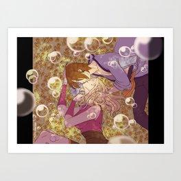 Utakata and Hotaru Art Print