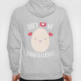Egg Rekord Eggcellent word game Kawaii gift Hoody