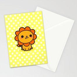 Kawaii lion Stationery Cards