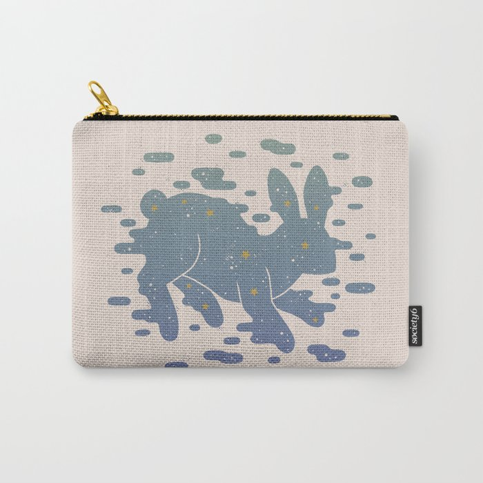 Lepus Constellation: Pastel Carry-All Pouch