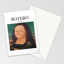 Botero - Mona Lisa Stationery Cards