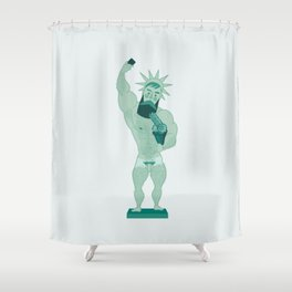 Libertivo Shower Curtain
