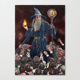 institutional FOMO for magic internet money Canvas Print