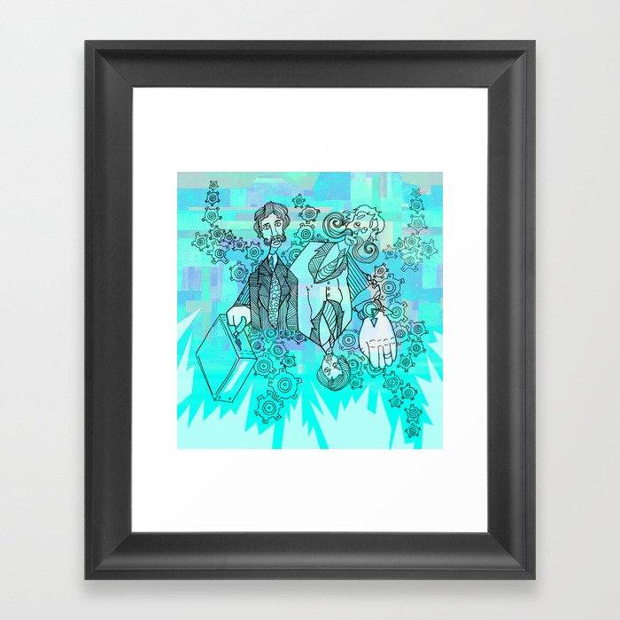 Business Time Framed Art Print