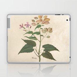 Honesty - botanical Laptop & iPad Skin
