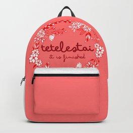 Tetelestai Backpack