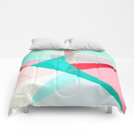FRACTION - Abstract Graphic Iphone Case Comforters