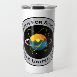 March For Science Astronaut Travel Mug