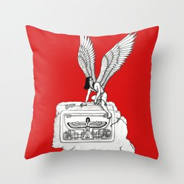 Ancient Wings Throw Pillow
