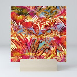 tropical beach Mini Art Print