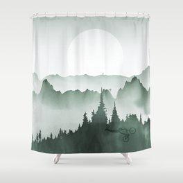 MTB Landscpae Shower Curtain