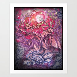 Bonsai Twilight Art Print