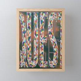Quest Framed Mini Art Print
