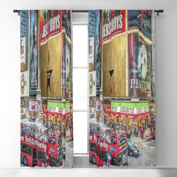 Times Square II Special Edition I Blackout Curtain