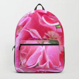 Springtime Geraniums Backpack