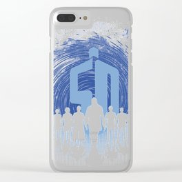 50 Years of doctors Clear iPhone Case