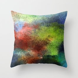 Brainy Anxiety Throw Pillow
